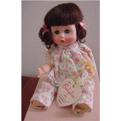Doll Babykin Effanbee Brunette MIB 1960s #2380351