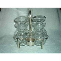 Server Silver PlatePickle Stand. Double. #2380363