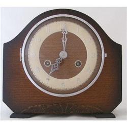"Deco Clock ""Andrew"" English c1930  #2380377"