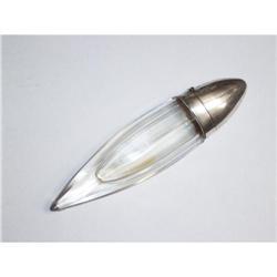 Silver & Cut Crystal  Perfume Bottle #2380395