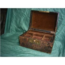 Leather Jewelry Box #2380399