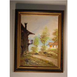 Oil on canvas  #2380407