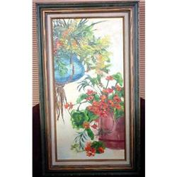 Oil painting signed #2380428