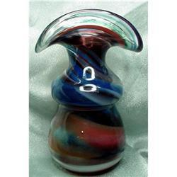 Art Glass Blown Vase #2380431