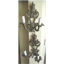 Pair of Brass Sconces #2380437