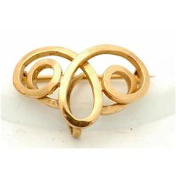 14k Solid Gold Watch Pin  #2380451