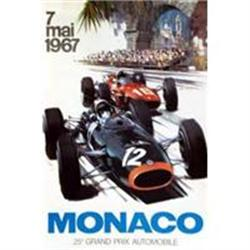 Monaco 1967 Poster, Later printing ca 1980s #2380478