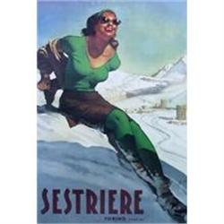 Sestriere Woman, Italian Later Printing #2380479