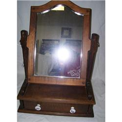 Vintage Mirror and Drawer #2380522