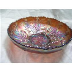 Fenton Unsigned Thistle Bowl #2380527