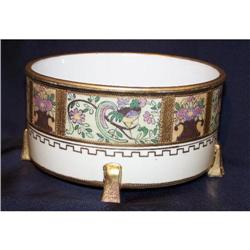 Nippon Ferner - Bird and Basket of Flowers #2364427