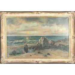 ?Sea Shore?, painted by Moller L Tomrady #2364443