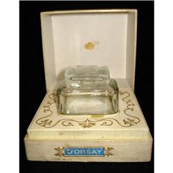 BACCARAT PERFUME BOTTLE FOR D'ORSAY CIRCA 1928 #2364457