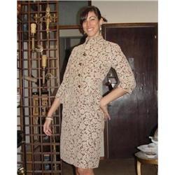 Lovely French Lace Dress & Jacket Rose Valois #2378507