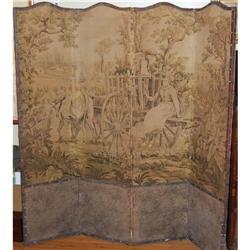 Antique Tapestry Screen after Debat-Ponsan, #2378512