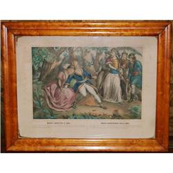 Antique Lithograph by Turgis, Mazeppa'a Ride, #2378513
