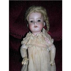"""13"""" 121 W Mark Open Mouth German Bisque Doll #2378715"""