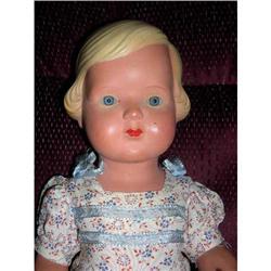 """17"""" Celluloid Cellba Doll All Original W/ Tag #2378727"""