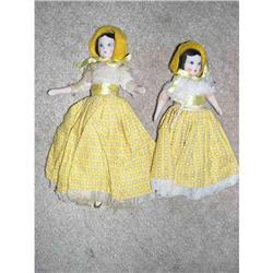 "9"" & 7"" Ruth Gibbs  Big & Little Sister In #2378728"
