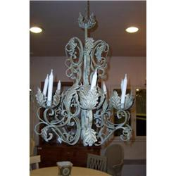 Wrought iron chandelier #2378736