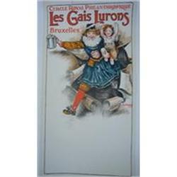 Vintage Poster - Les Gaies Lurons-Belgium #2378747