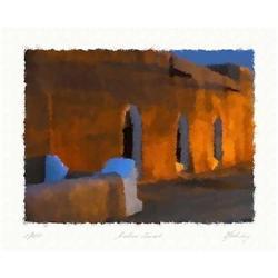 "Lithograph ""Arabian Sunset""  by Livitin In. #2378748"
