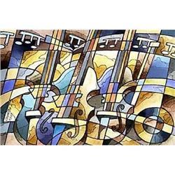 """Musical watercolour"" cool Avant-Garde's #2378750"