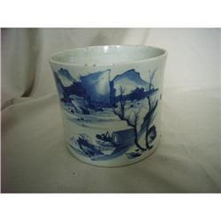 chinese porcelain brushpot #2378777