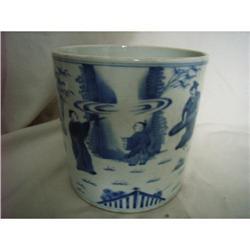 chinese porcelain brushpot #2378779
