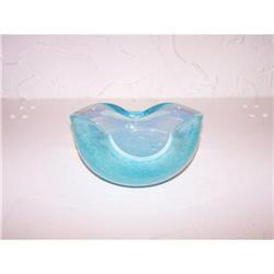 Midcentury Murano Glass Bowl-Italian #2378800