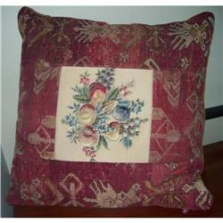 Huge Down Filled Rug Tapestry Pillow  #2379159