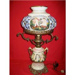 Capodimonte gone  with the wind lamp #2379162