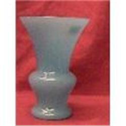 Very nice Blue Opaline glass Vase #2379163