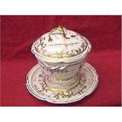Small French porcelain Soup Tureen #2379165
