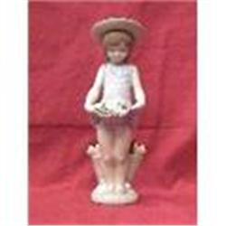 Lladro Porcelain Figurine( little girl with #2379169