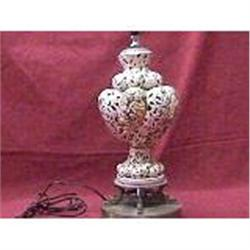 A PAIR OF CAPODIMONTE LAMPS #2379173