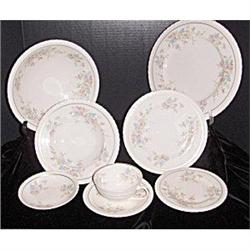 Spring Time dinnerware by Hanover- 4 place #2379455