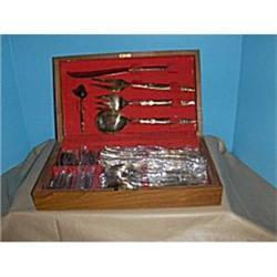 Bronze flatware- ser. for 8 #2379461