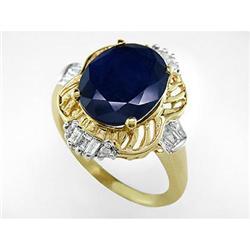 Sapphire and Diamond Ring #2379464