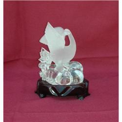 Crystal Display with Swan & Swan bady  #2379468