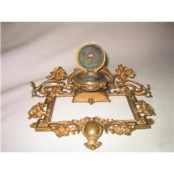 Biedermeier bronze Inkwell #2379481