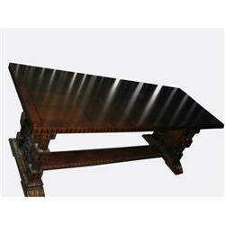 Large Ornate Biedermeier Desk #2379489