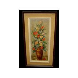 Flower Still Life Oil Painting Thorp New York #2379494