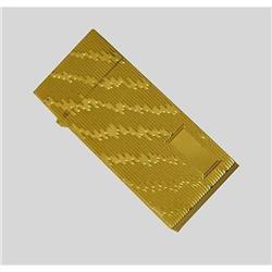 14kt Yellow Gold Lighter Deco Zig Zag Case 14k #2379502