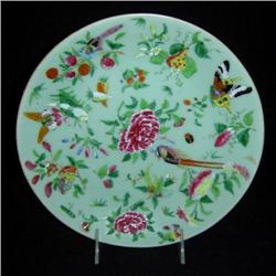 Antique Chinese Rose Canton Plate #2379520