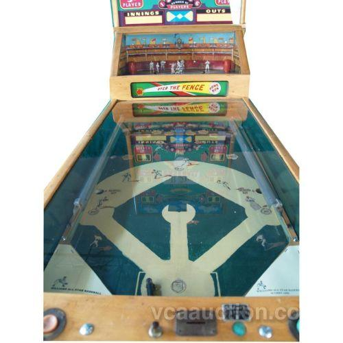 Williams All Star 1952 Baseball Pinball Machine 6 Pla