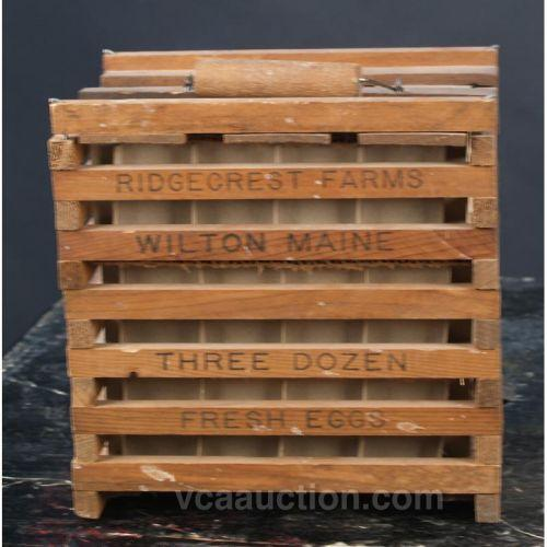 Lot Of 2 Old Egg Crate Pepsi Wood Six Pack W Bottle