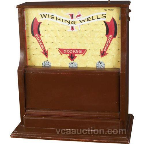 1 Cent Wishing Wells Works Penny Drop Game W Key