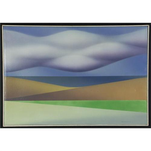 Airbrush Painting Val Welman Wa Professor Abstract