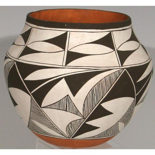 Laguna Pueblo Indian pot by J  Cheromiah